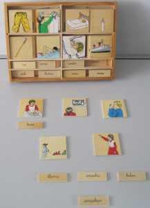Asociación imagen-palabra (lecto-escritura