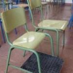 Silla adaptada para alumno/a con acondroplasia