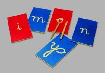 Letras en surcos