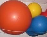 Balones de diferente tamaños