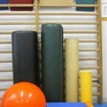 Material de sala de fisioterapia