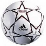Balón de cuero termosoldado con un dispositivo interno que emite sonido cuando el balón está en movimiento. Se usa en la práctica de deportes adaptados.