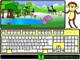 Herramienta de aprendizaje del teclado de ordenador. Aplicación motivadora, inclusiva que puede ser utilizada por todos los nińos y nińas, tanto por aquellos que presentan discapacidad visual como por videntes.