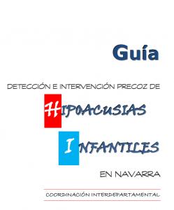 Guía Hipoacusias infantiles en Navarra